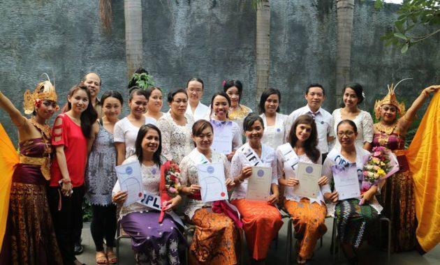 バリ島国際セラピスト資格CIBTAC授賞式